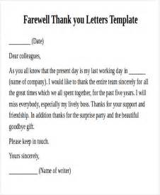 Thank You Letter Friend Work sample work thank you notes 8 examples in word pdf