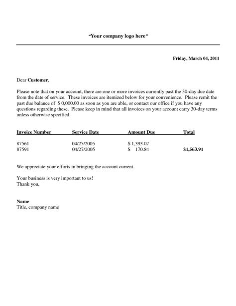 Past Due Invoice Template Invoice Template Ideas Balance Due Invoice Template