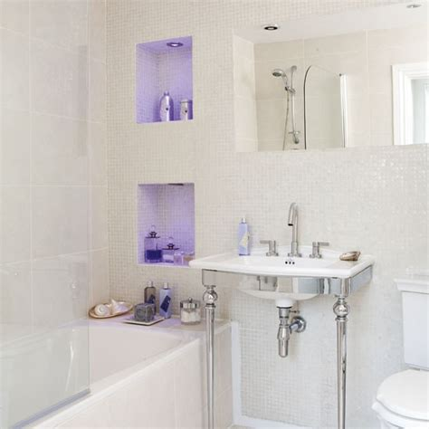 ideas for small bathrooms uk small bathroom lighting