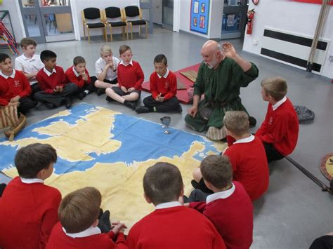 stanion c of e primary school year 1 and 2 classroom stanion c of e primary school anglo saxon visitor