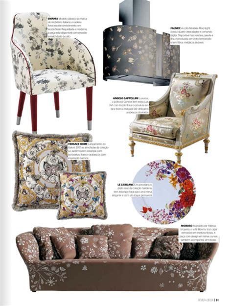 upholstery magazine smania smania press amal chair with bouquet upholstery