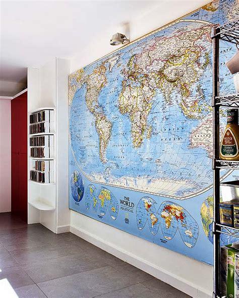 mapamundi decoracion quiet sundays mapa mundi para decorar