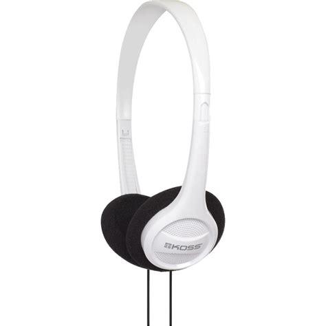 Headphone Portable Koss Kph7 On Ear Headphones White 187337 B H Photo