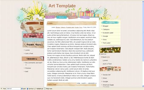 template blogger http webdesign14 com