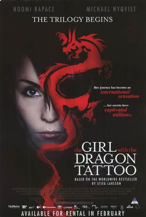 dragon tattoo trilogy 73 best dragon tattoo trilogy noomi rapace the original