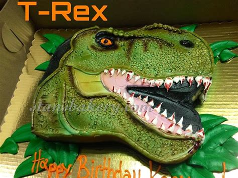 t rex cake template leslie s cool cakes from stan s northfield bakery t rex cake