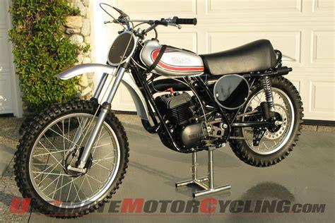 vintage yamaha motocross bikes vintage motocross 1974 yamaha yz360