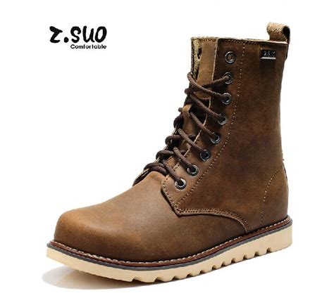 best rated motorcycle boots best selling genuine leather men martin boots popular