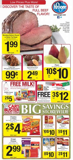 free milk at kroger coupon matchup mylitter one deal kroger weekly deals and coupon matchups 12 05 12