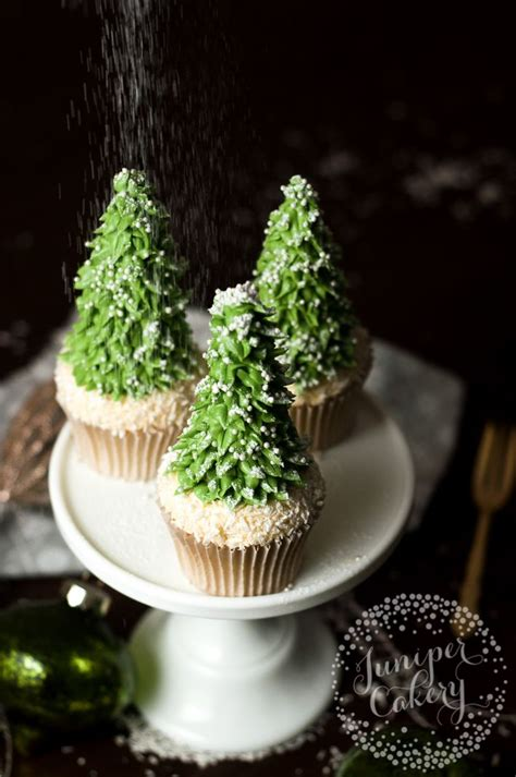 how to make cute christmas tree cupcakes the talk