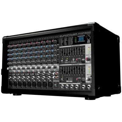 Power Mixer 14 Channel Behringer Europower Pmp 2000 D Original behringer europower pmp2000 powered mixer