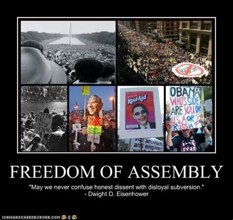 Freedom To Assemble Is Outlined In Which Amendment by Freedom Of Assembly Quotes Quotesgram
