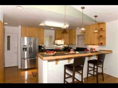 Standard Kitchen Cabinets by Kitchen Design Breakfast Bar Youtube