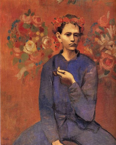 cuadros de picasso epoca rosa anjas theme of the week picasso week 3 the rose period