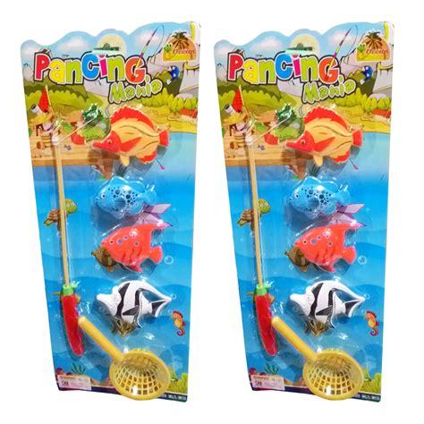 Kado Mainan Anak Mainan Kelompok Family jual mainan anak pancing ikan toys family