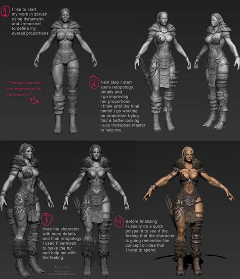 tutorial zbrush cartoon norse breakdown gilberto magno zbrush tutorial