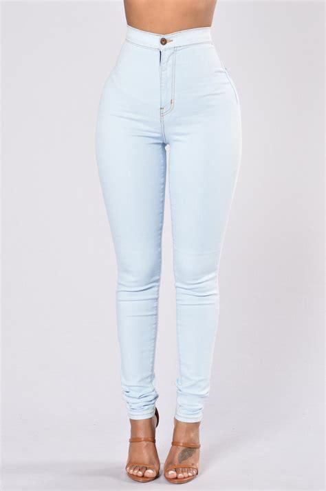 Highwaist Lightblue topnotch high waist light blue