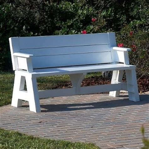 bench that turns into a table bench furniture ideas bench that turns into a table