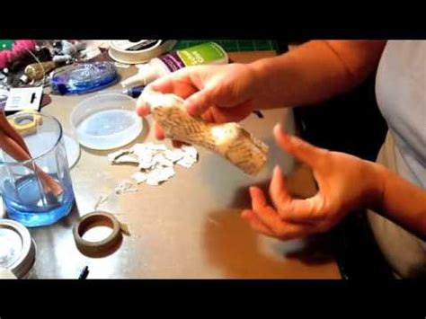 How To Make A Paper Mache Dress Form - tutorial paper mache dress form
