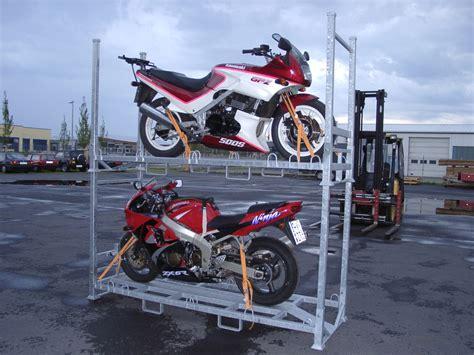 Motorrad Transportieren Lassen by Suntour 2012