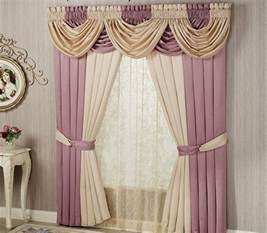 Beige And Pink Curtains Decorating 15 Different Valance Designs Home Design Lover