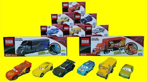 Tomica Disney Set 3 The Dinosaur 토미카 카3 장난감 tomica cars 3 diecast disney pixar toys