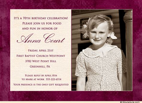 60th Birthday Party Invitations Ideas Bagvania Free Printable Invitation Template 70th Birthday Invitation Template Word