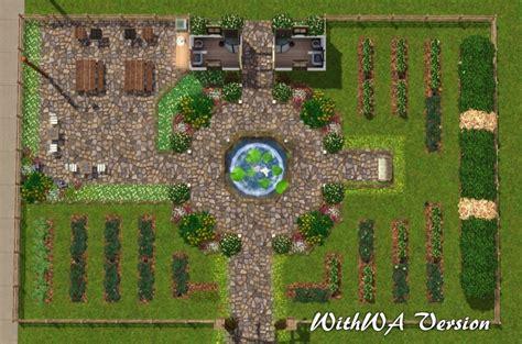 Site Plans For Houses mod the sims beautiful vista city garden no cc