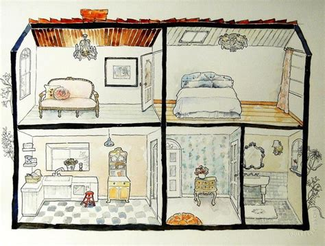dollhouse drawing 17 best images about dollhouse illustrations on