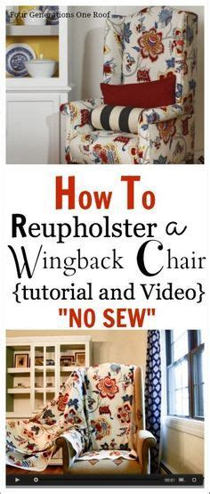 how to reupholster couch cushions without sewing how to reupholster a chair tutorial video videos