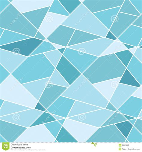 blue geometric pattern vector seamless geometric blue polygonal pattern stock
