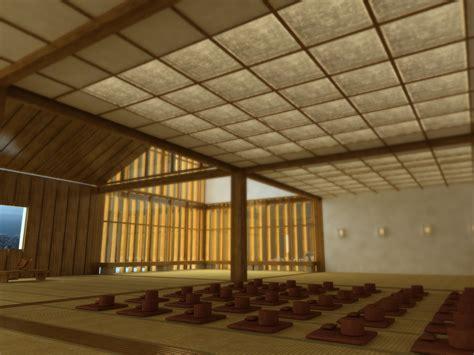 japanese meditation room 3d model max obj 3ds fbx cgtrader com