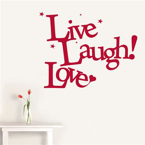 laugh live love live laugh love wall sticker peenmedia com