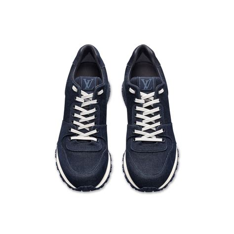 louis vuitton sneakers for louis vuitton run away denim low top sneakers in blue for