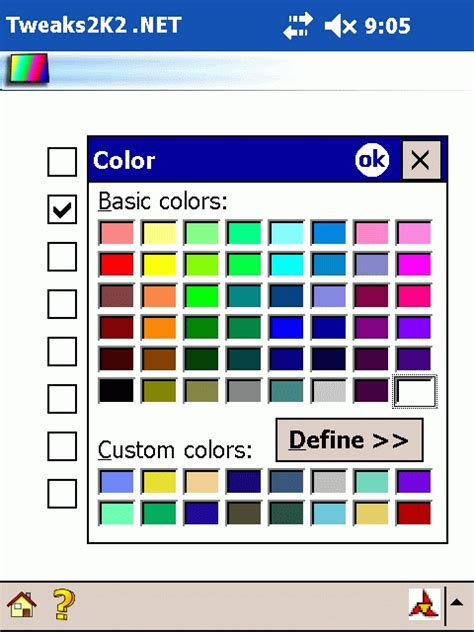 font colors gallery
