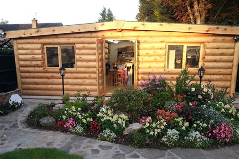 Garden Cabin small log cabins