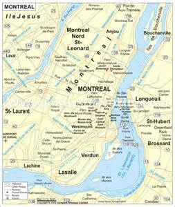 map of montreal canada