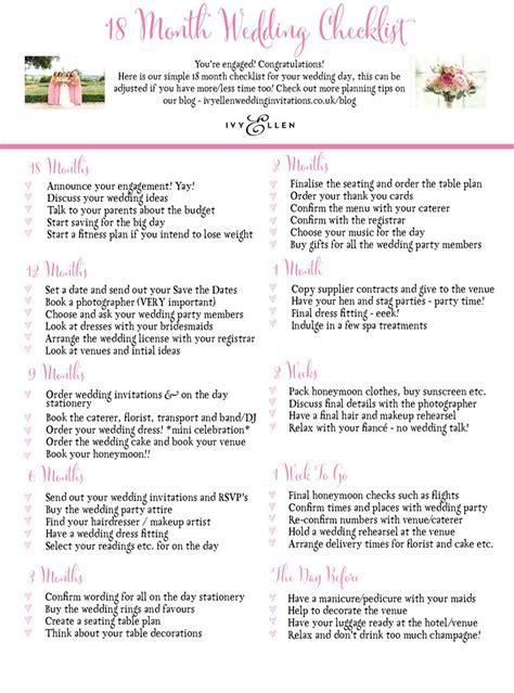 Best 25  Wedding checklists ideas on Pinterest   Wedding