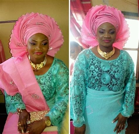 lace and wrapper style in nigeria latest lace skirt and blouse styles 2017 naija ng