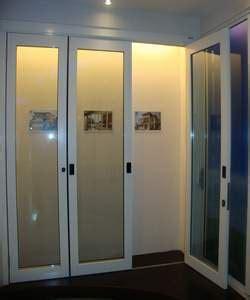 Menerima Pesanan Pembuatan Rolling Door Di Tangerang kusen pintu jendela alumunium powder coating white