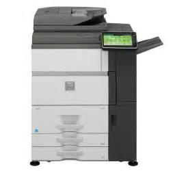 tabloid color laser printer sharp mx 7040n tabloid digital color laser high speed