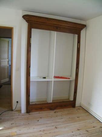 porte d armoire ancienne fabriquer une porte de placard maison design bahbe