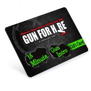 Gun Range Gift Card - 15 min gun intro gift card gun for hire nj s 6 star indoor gun range
