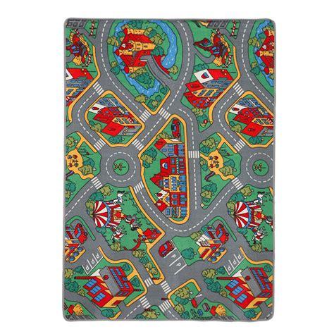 alfombra polipropileno infantil playtime ref 12116265 - Leroy Merlin Alfombras Infantiles