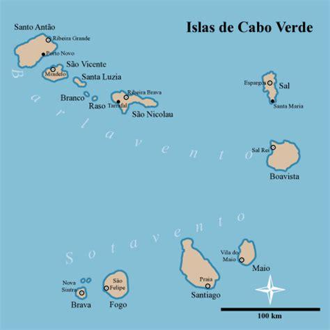 mapa de cabo verde mapa de cabo verde islascaboverde