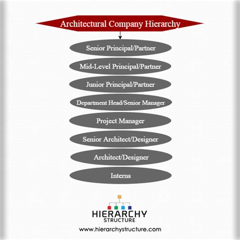 architecture company ranking architectural company hierarchy chart hierarchy structure