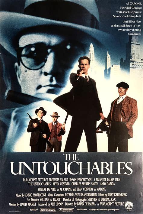 untouchable film gangster nostalgipalatset the untouchables 1987