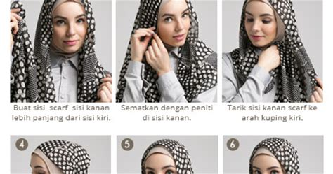 tutorial hijab segi 4 ala dewi sandra cara hijab ala dewi sandra hijab top tips