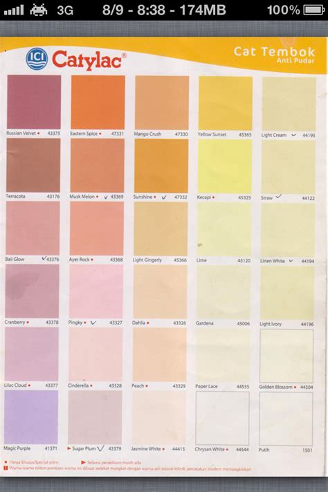 Merk Cat Tembok Warna Ungu harga cat dulux home design idea