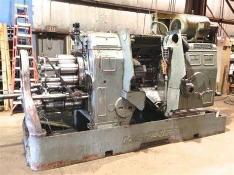 Acme Gridley Machine Acme Gridley 2 5 8 Quot Rb 8 Machine